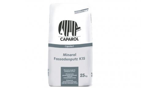 Capatect Standard Mineral Fassadenputz K15