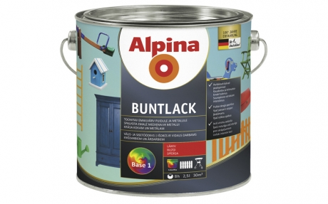 Alpina Buntlack GL (огненно-красный)
