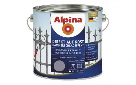 Alpina Direkt auf Rost Hammerschlageffekt Anthrazit