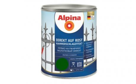 Alpina Direkt auf Rost Hammerschlageffekt Gruen