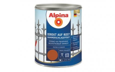 Alpina Direkt auf Rost Hammerschlageffekt Kupfer
