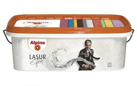 Alpina Effekt Lasur Silber