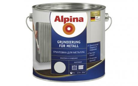 Alpina Grundierung für Metall