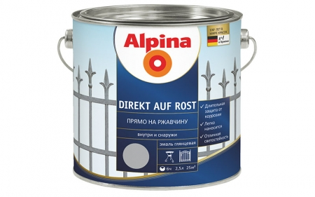 Alpina Direkt auf Rost (рапсово-желтый)